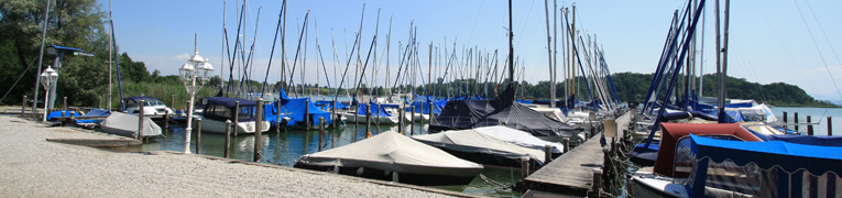 Jell Yachthafen in Breitbrunn am Chiemsee