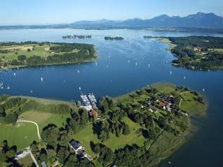 Lage am Chiemsee